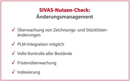 SIVAS Änderungsmanagement