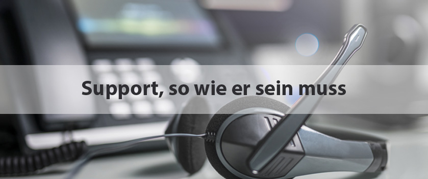 Slider-perfekter Support