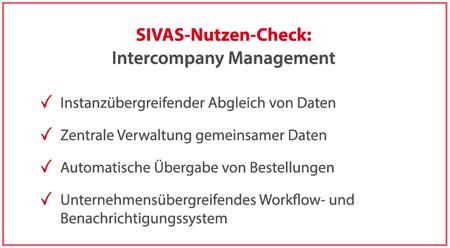 SIVAS Intercompany Management