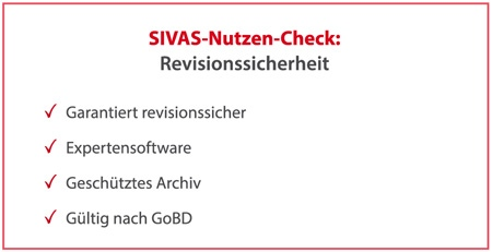 SIVAS Revisionssicherheit