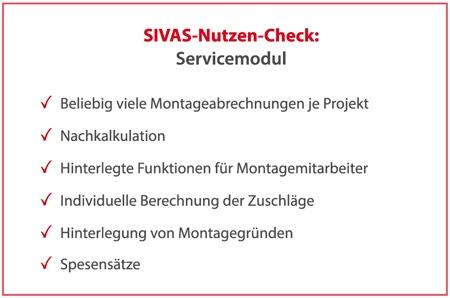 SIVAS Servicemodul
