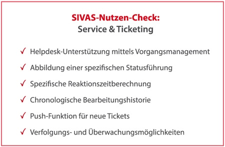 SIVAS Service & Ticketing