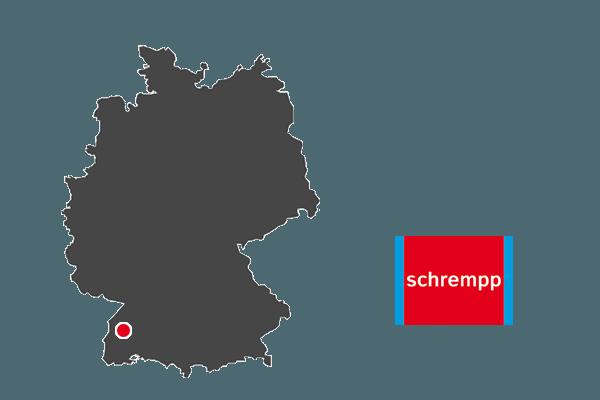Standort schrempp in Lahr