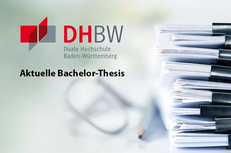 Aktuelle Bachelor-Thesis bei schrempp edv